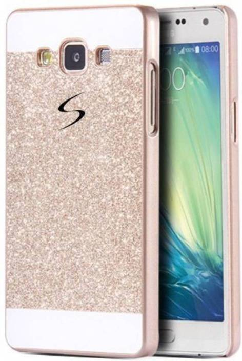 separation shoes 0baec d4001 Ideal Back Cover for Samsung Galaxy A5 (Gold) (Glitter)
