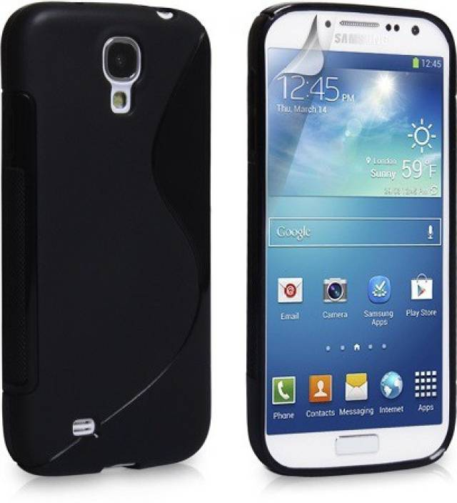 Newdort Grip Back Cover for Samsung Galaxy 9500 (S4)