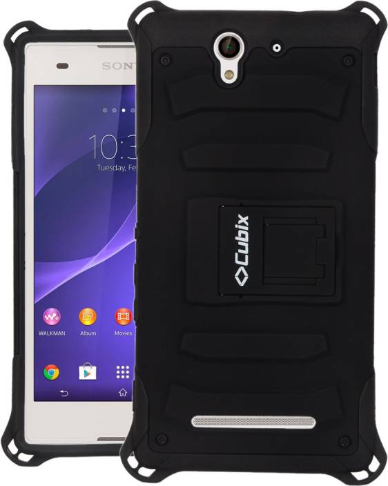 brand new fc7c4 d0aad Cubix Back Cover for Sony Xperia C3