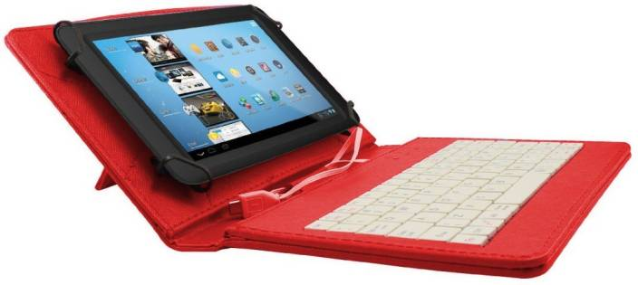Gadget Decor Keyboard Case for Ambrane AK-7000 Kids Tablet