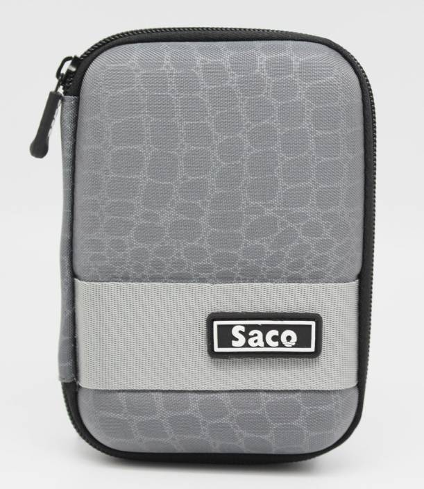 Saco Pouch for WD Passport Ultra 2.5 inch 2 TB External Hard Drive (Black)