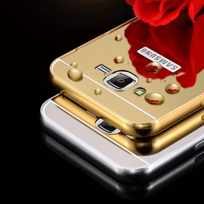 joshi Back Cover for SAMSUNG Galaxy J7 (Golden Gold, Metal, Plastic)