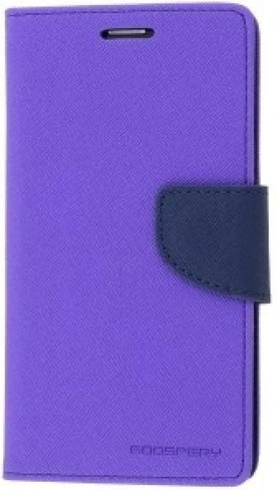 Securemob Wallet Case Cover for Samsung Galaxy Tab 3 Neo 7 Inch T110 Purple