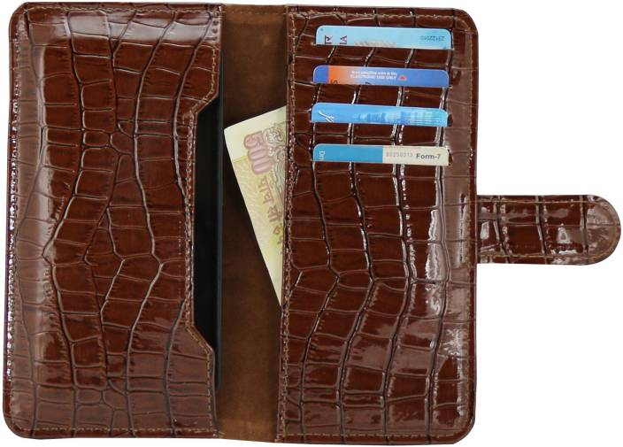 D.rD Wallet Case Cover for Lava Xolo q1000, Lava Xolo A1000