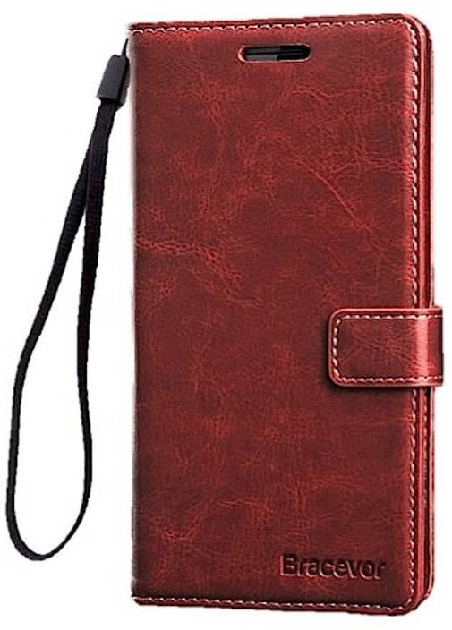 Bracevor Wallet Case Cover for OnePlus 3