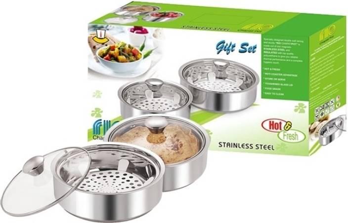 Nano Nine Rio Chapati Pot Pack of 2 Casserole Set