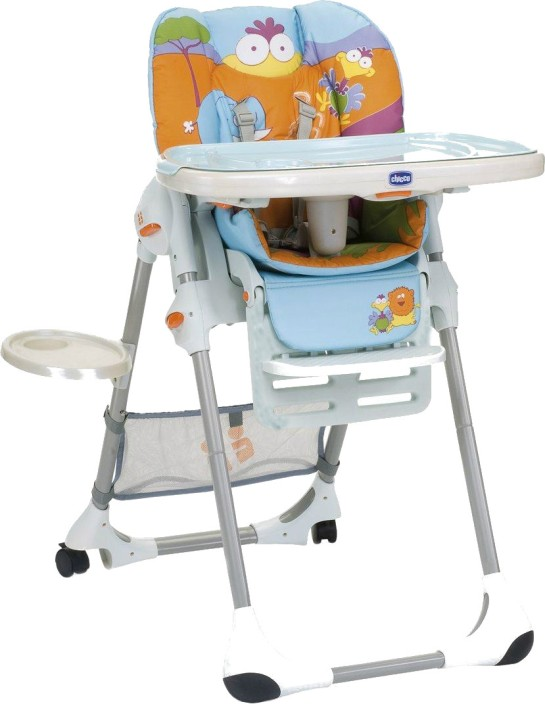Chicco Polly 2 In 1 Highchair Safari