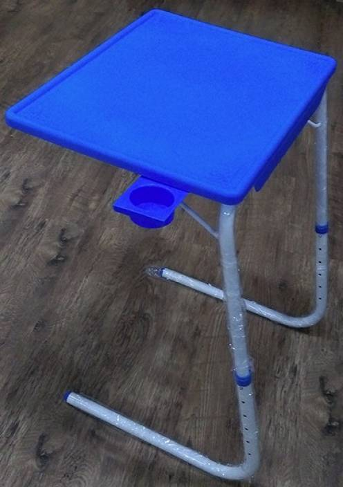 Tablemate IV Four WITH CUP HOLDER Blue Changing Table