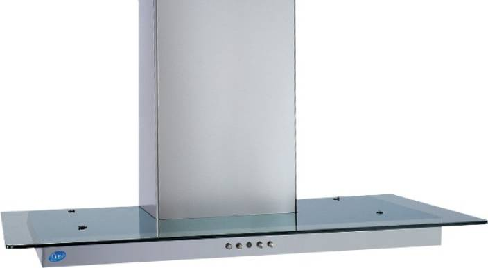 GLEN 6062 SS 60 1000M3 BF-LTW Wall Mounted Chimney