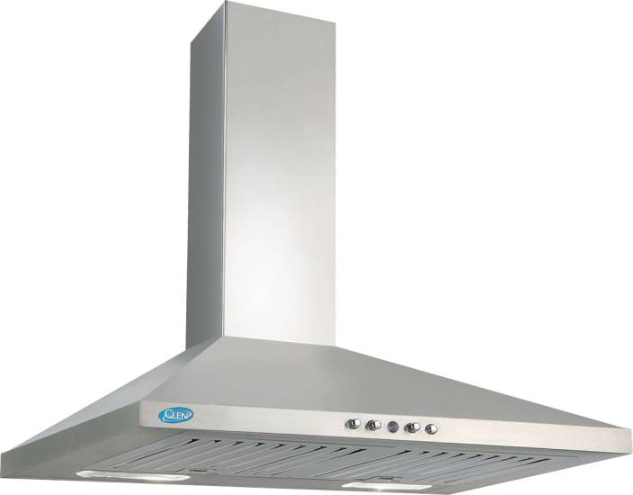 GLEN 6075 SS 60 750M3 BF Wall Mounted Chimney
