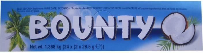 Bounty 24 Pcs Chocolate Bars