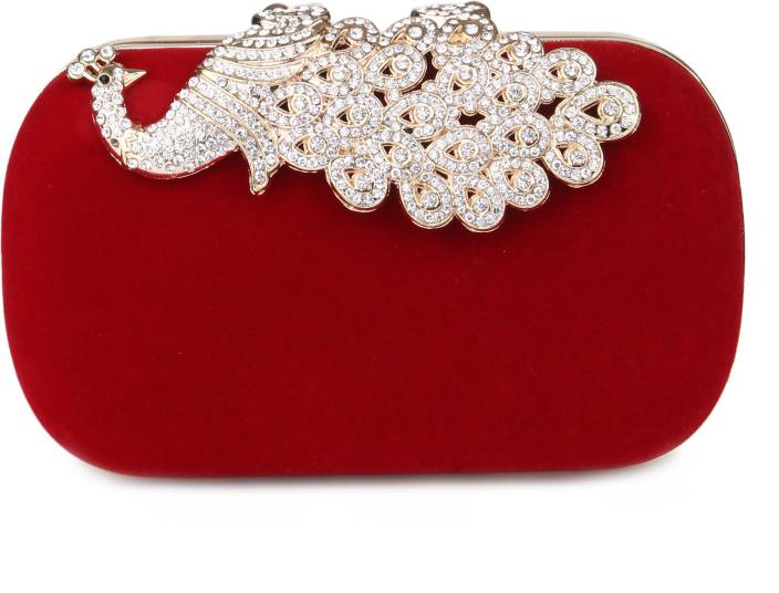 Kleio Girls Formal, Wedding, Party Red  Clutch