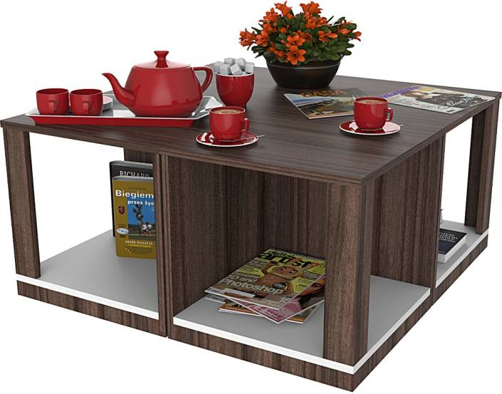 North Star Fixture & Furniture Pvt. Ltd. MAXIS 4-in-1 Engineered Wood Coffee Table