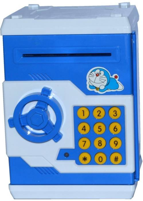 Toyzstation Cartoon Coin Bank With Electronic P Word