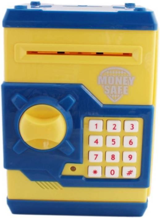 Tiny Mynee Electronic Coin Safe Piggy Bank Money Locker