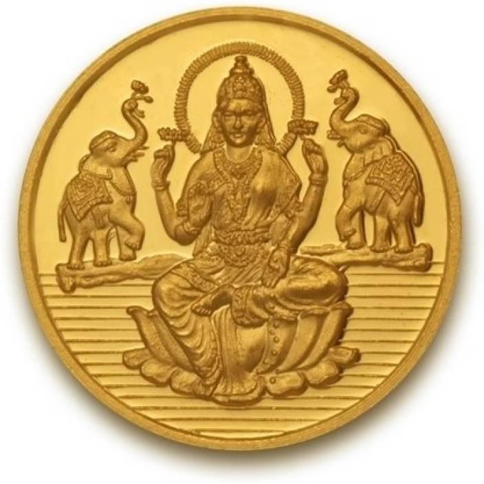 P.N.Gadgil Jewellers Laxmi shree 24 (995) 1 g Gold Coin