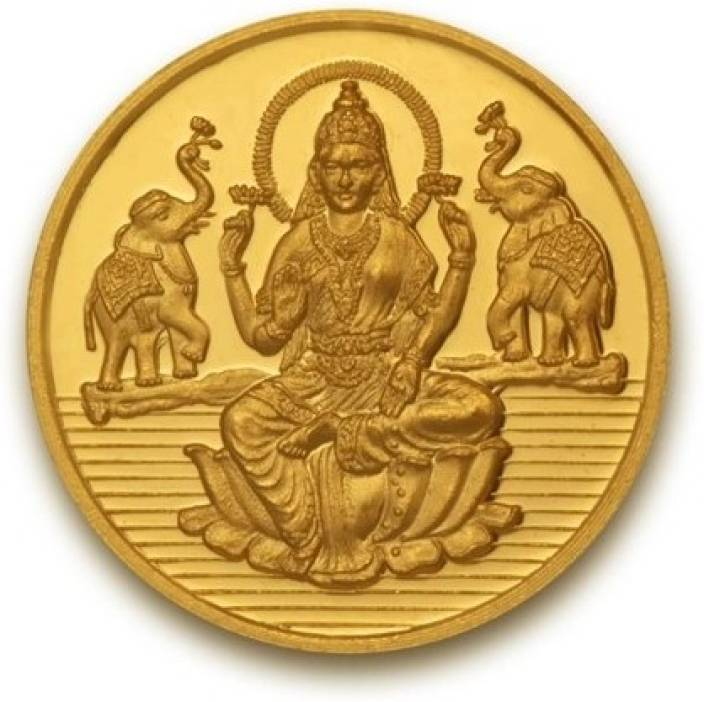 P.N.Gadgil Jewellers Laxmi shree 24 (995) 2 g Gold Coin