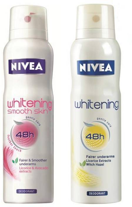 Nivea Whitening Floral and Smooth Skin Combo Combo Set