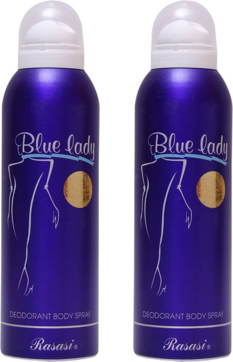 ad1624595b Rasasi 2 Blue Lady Deodorant Spray - For Women - Price in India, Buy ...