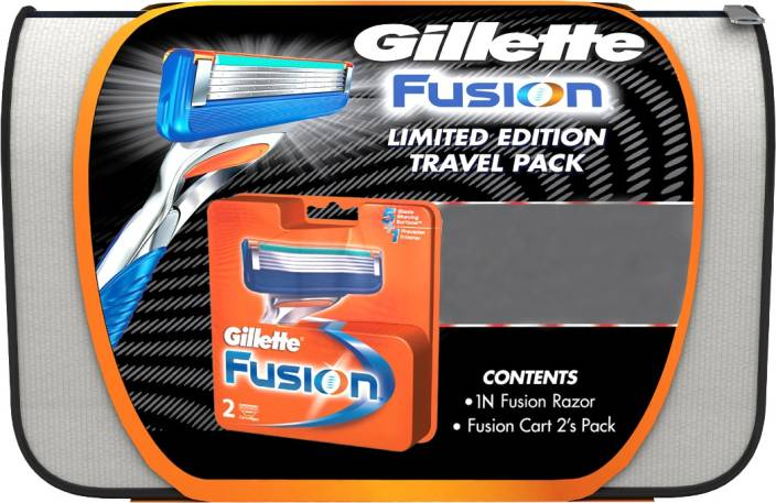 gillette limited edition travel pack