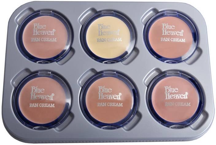 c87c183b10 Blue Heaven Combo Of 6 PC Pan Cream Set 1 Price in India - Buy Blue ...