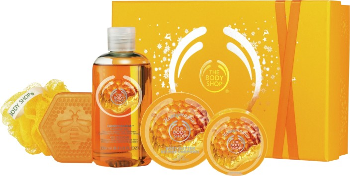 The Body Shop Festive Small Honeymania Gift Set Price in India ...