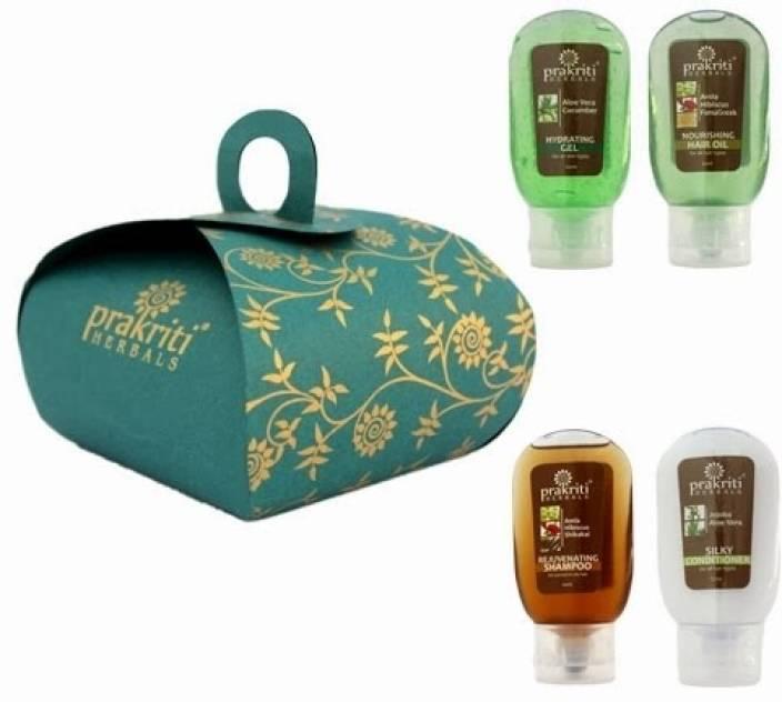 Prakriti Herbals Amla Shikakai Hair Care Kit