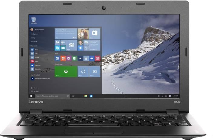 Lenovo Ideapad 100s Atom Quad Core - (2 GB/32 GB EMMC Storage/Windows 10 Home) 11IBY Laptop