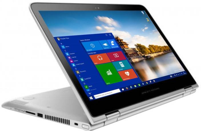 Hp Pavilion X360 Core I3 6th Gen 4 Gb 1 Tb Hdd Windows 10 Home 13 S102tu 2 In Laptop 3 Inch Natural Silver Colour 71 Kg
