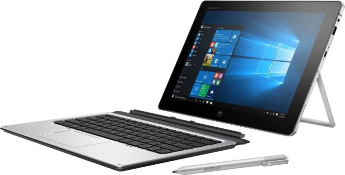 HP Core M 6th Gen - (4 GB/128 GB SSD/Windows 10 Pro) X2 2 in 1 Laptop (12 inch, SIlver, 1.21 kg)