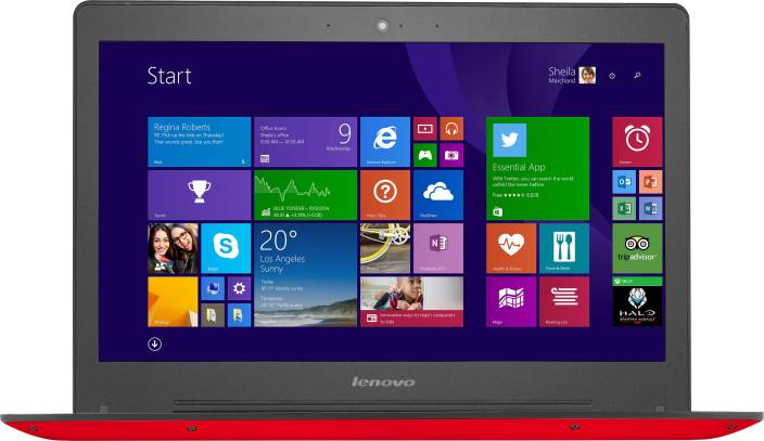Lenovo Core i5 5th Gen - (4 GB/1 TB HDD/8 GB SSD/Windows 8.1/2 GB Graphics) U41-70 Laptop