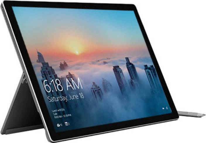 f874058ca79 Microsoft Surface Pro 4 Core i5 6th Gen - (4 GB 128 GB SSD Windows 10 Pro) 1724  2 in 1 Laptop (12.3 Inch
