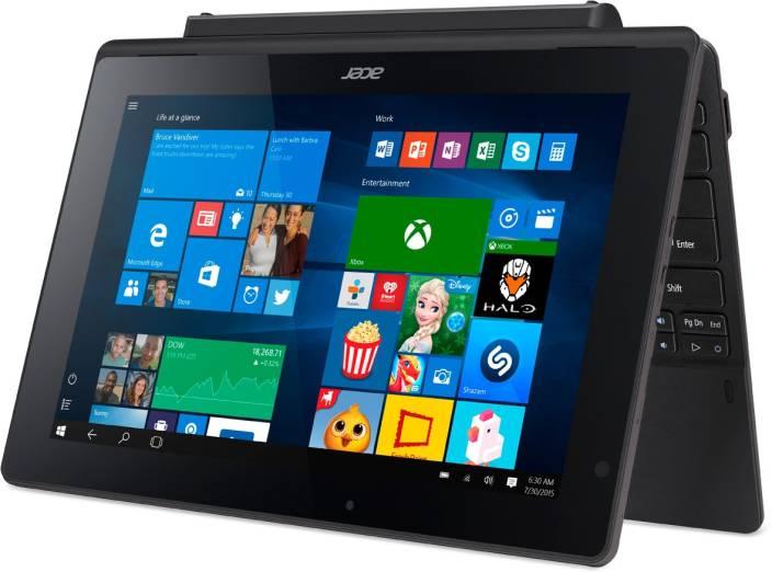 Acer Atom Quad Core - (2 GB/32 GB EMMC Storage/Windows 10 Home) SW3-016 2 in 1 Laptop