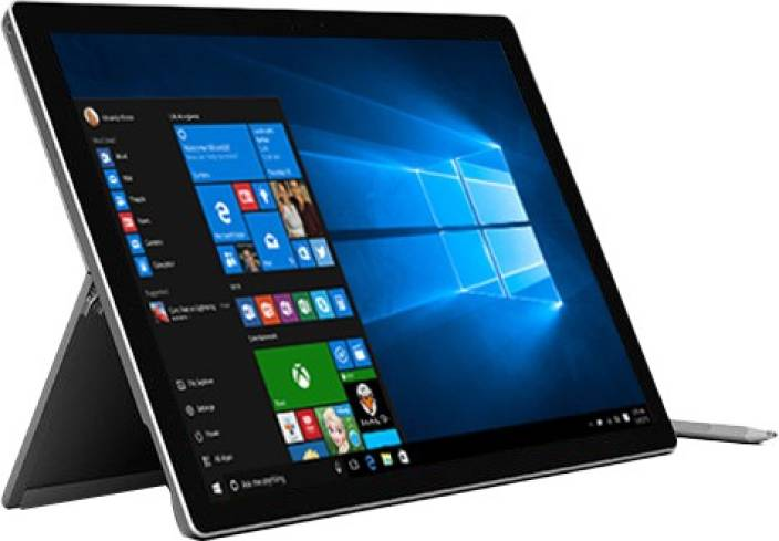 microsoft surface pro 4 core i5 6th gen 8 gb 256 gb ssd windows 10 home 1724 2 in 1 laptop. Black Bedroom Furniture Sets. Home Design Ideas