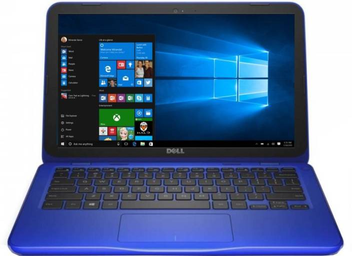 Dell Celeron Dual Core - (2 GB/32 GB EMMC Storage/Windows 10 Home) 3162 Laptop