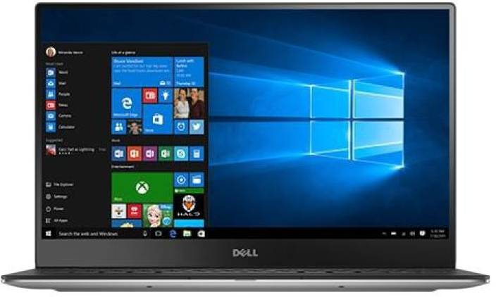 Dell Core i5 6th Gen - (8 GB/256 GB SSD/Windows 10 Home) XPS 13 Thin and Light Laptop