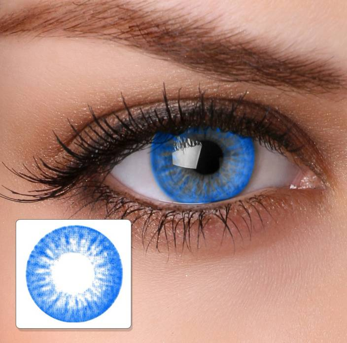 964ed2d249 Magjons Blue Eyes Monthly Contact Lens Price in India - Buy Magjons ...