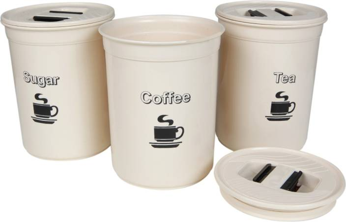 Csm Coffee Sugar Tea Container Set 500 Ml Plastic Grocery