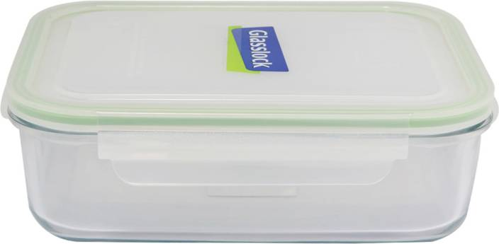 1100ml 6 Piece Source Glasslock Rectangle 715 ml Glass Grocery Container .
