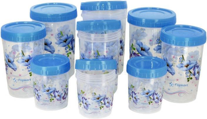 Kitchen Storage Containers flipkart smartbuy 9 piece kitchen storage containers price in