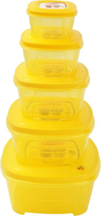 NP Good Day Set (Medium) (Yellow) Plastic Multi-purpose Storage Container