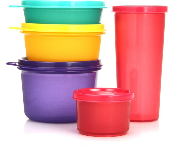 Ikea Food Containers Blue Lid Cylinders