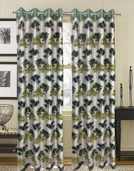 homefab india polyester door curtain 212 cm 6 ft single curtain buy homefab india polyester. Black Bedroom Furniture Sets. Home Design Ideas