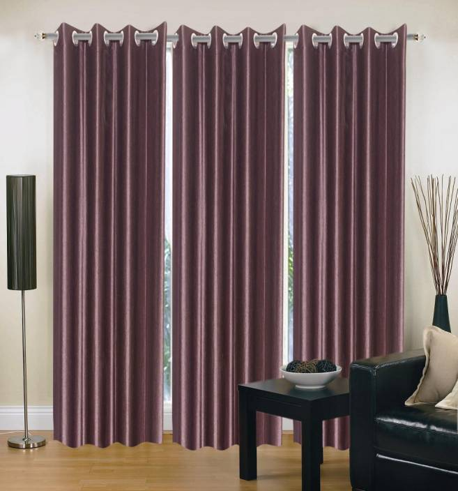 madhav product polyester door curtain 212 cm 6 ft pack of 3 buy madhav product polyester. Black Bedroom Furniture Sets. Home Design Ideas