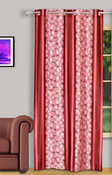 Dreaming Cotton Polyester Door Curtain 210 cm (6.8ft) Single Curtain