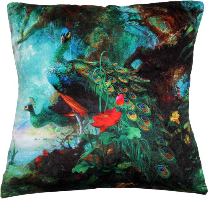 Retro Pool Floral Cushions Cover
