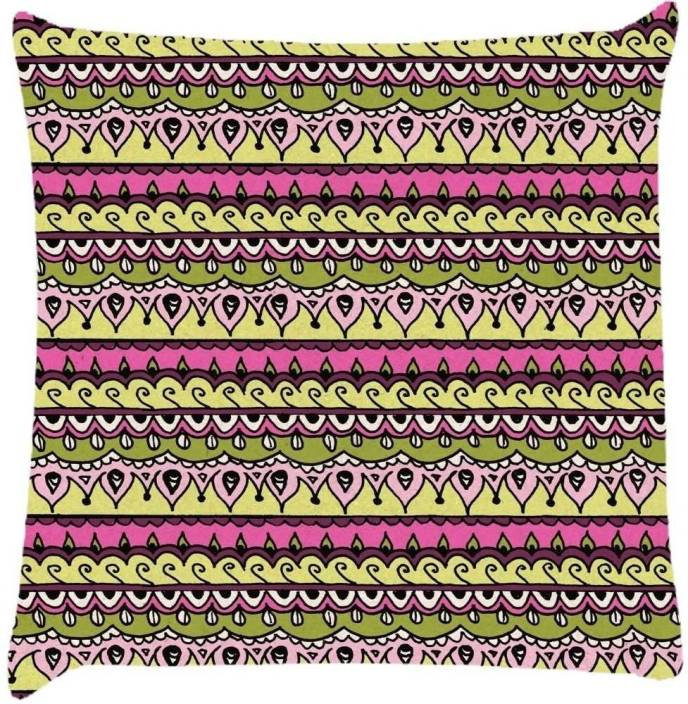Snoogg Paisley Cushions Cover