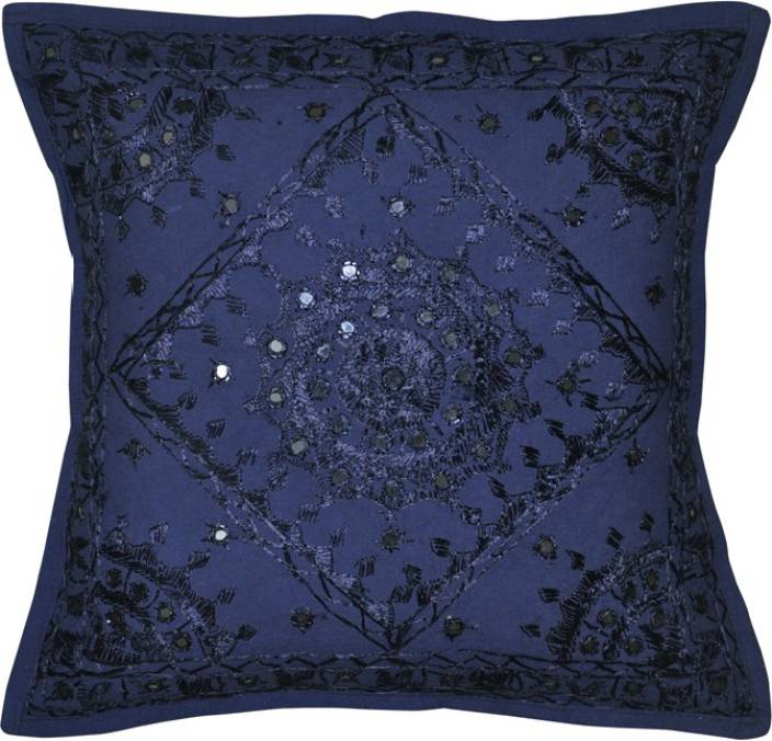 Navya Creations Embroidered Cushions Cover