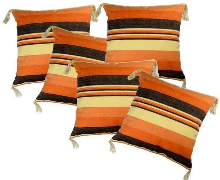 BELIVE-ME Striped Cushions Cover