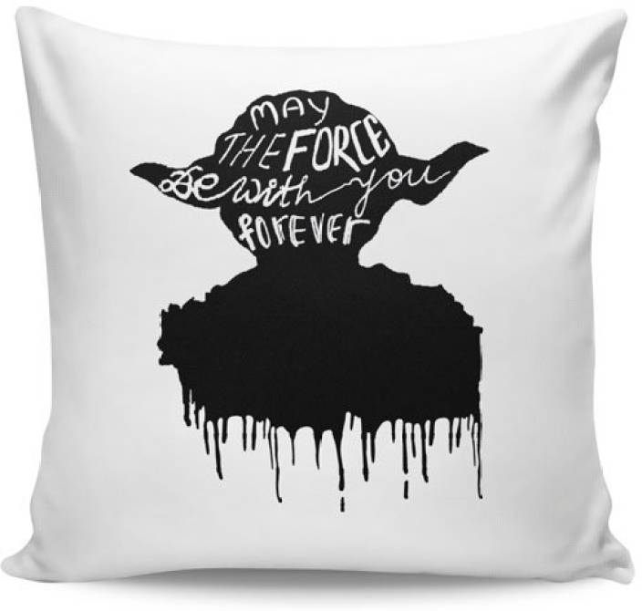 PosterGuy Text Print Cushions Cover